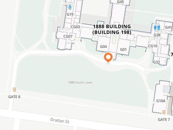 Map location for fire extinguisher training