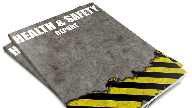 Health and safety report booklet
